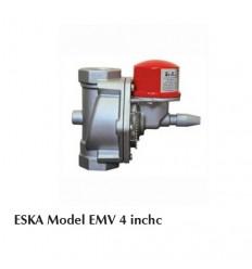شیر قطع گاز حساس به زلزله ESKA سایز 4 اینچ مدل EMV