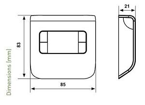 ترموستات اتاقی فانتینی مدل CH110