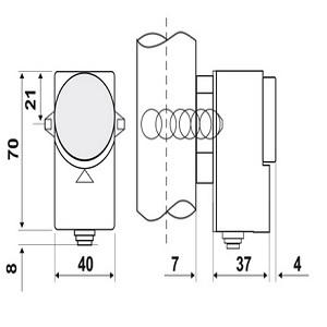 ترموستات جداری FANTINI مدل C01