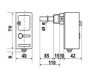 ترموستات FANTINI مدل C06