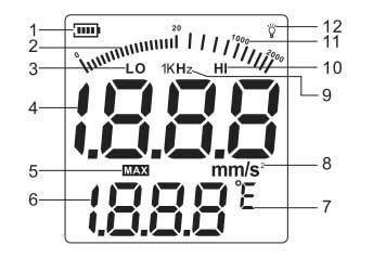 لرزش سنج (ویبرومتر) دیجیتال بنتک مدل GM63B