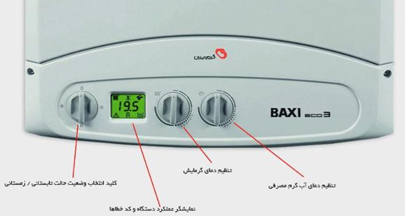 یژگی های پکیج گرم ایران Boxi