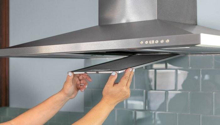 شستن فیلتر هود آشپزخانه