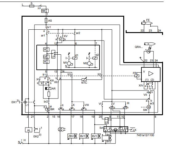 اتصالات رله زیمنس LFL1