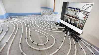مراحل نصب گرمایش از کف