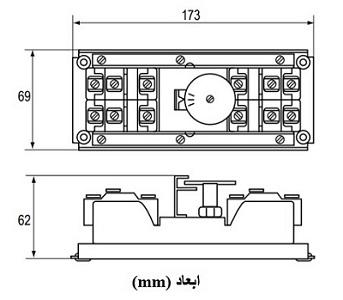 ترموستات پن جانسون کنترل 4 مرحلهای A36AHB-9109