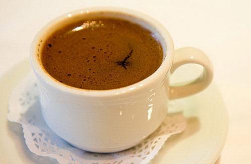 قهوه درست شده با دستگاه تصفیه آب