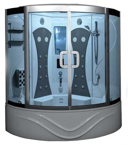 سونا بخار آپارتمانی زرین آب مدل مونترال