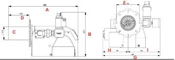 مشعل گازی شوفاژکار مدل 88
