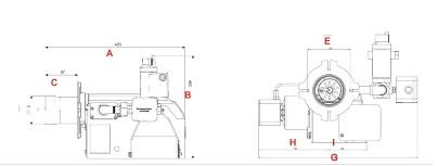 مشعل گازی شوفاژکار مدل 120