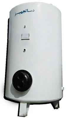 منبع آب گرم کویلی ایستاده دماتجهیز 1200