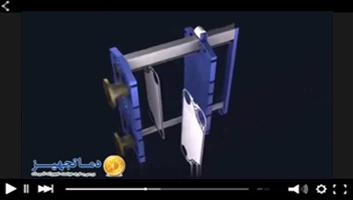 فیلم شماتیک عملکرد مبدل های حرارتی صفحه ای
