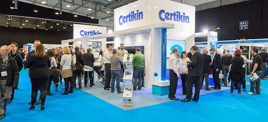 غرفه محصولات شرکت سرتیکین