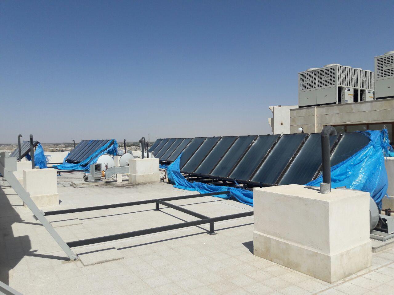 آبگرمکن خورشیدی ترموسیون سولار پلار صفحه تخت