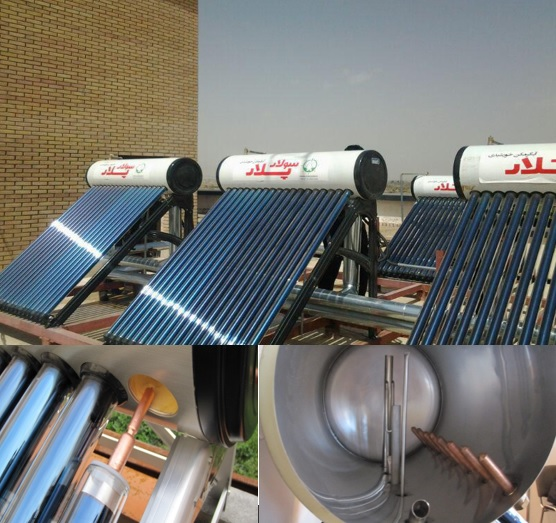 200 Litter Flutter Solar Polar Water Heater