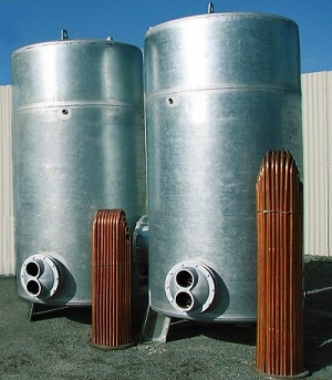 منبع آب گرم کویلی ایستاده دماتجهیز