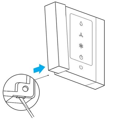روش نصب کلید کولر آبی سدنا مدل ونوس