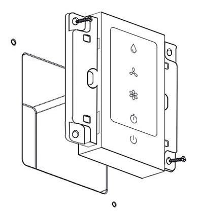 روش نصب کلید لمسی کولر آبی سدنا مدل ونوس