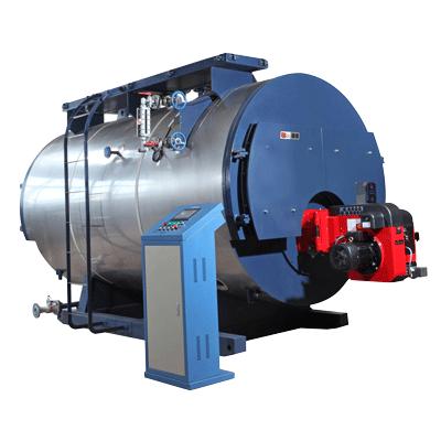 steel hot water boiler