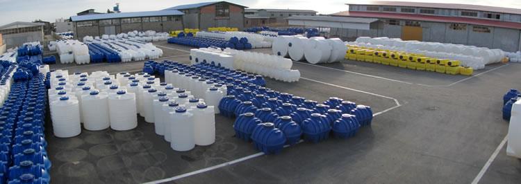 کارخانه منبع ذخیره پلی اتیلن طبرستان