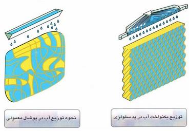 کولر آبی سلولزی