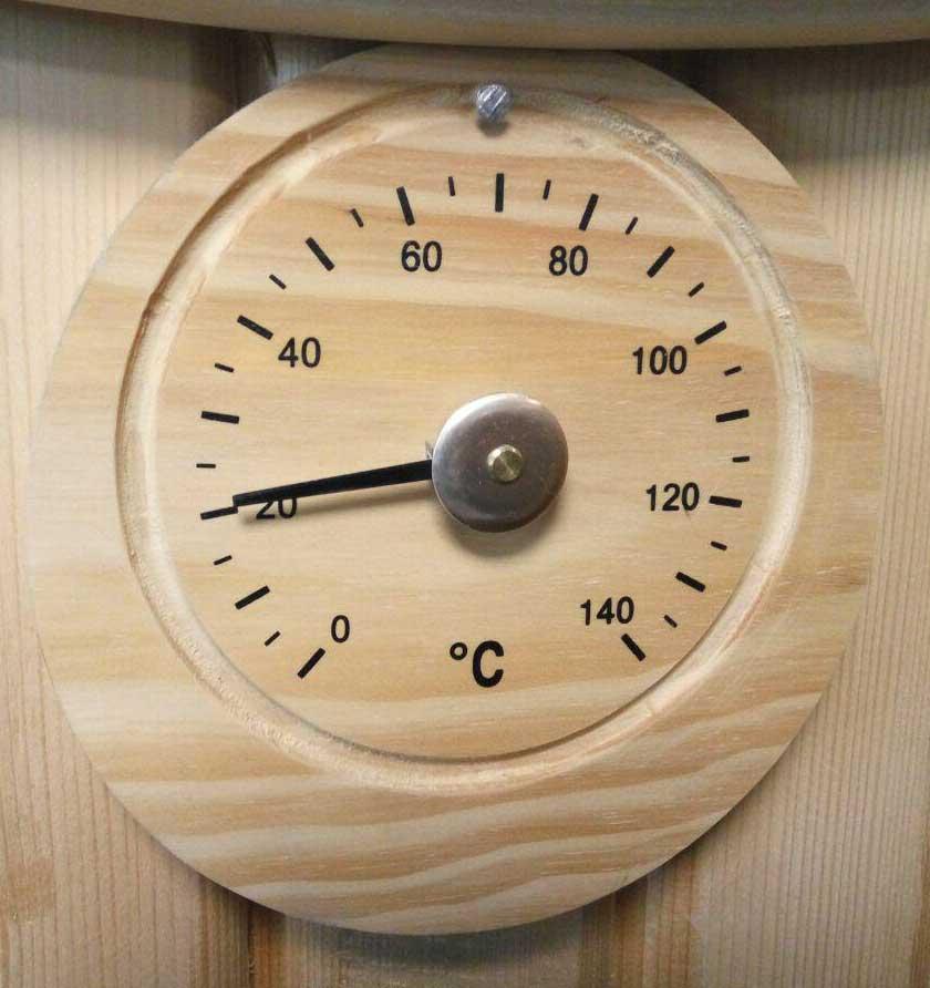 دماسنج چوبی سونای خشک هایپرپول