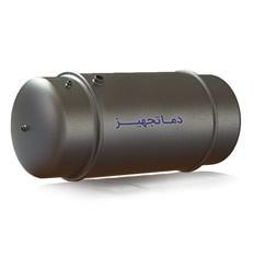 منبع آب گرم دو جداره افقي دماتجهیز
