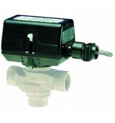 شیر سه راهه موتوری هانیول تدریجی با بوبین DN20