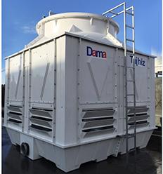 برج خنک کننده فایبرگلاس مکعبی دماتجهیز