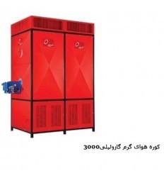 کوره هوای گرم گازوئیلی انرژی